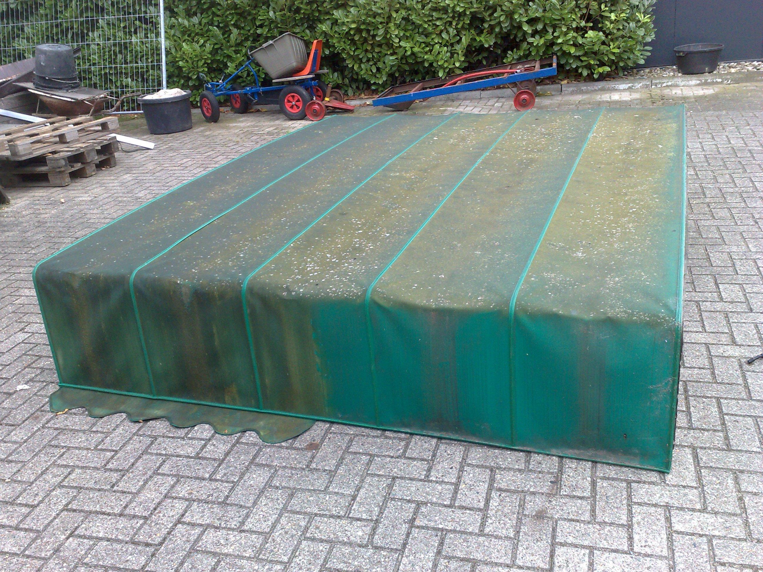 Markiezen reinigen Belvoir te Nijmegen