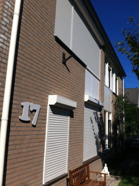 Rolluiken en ritsscreen geplaatst in Arnhem 2