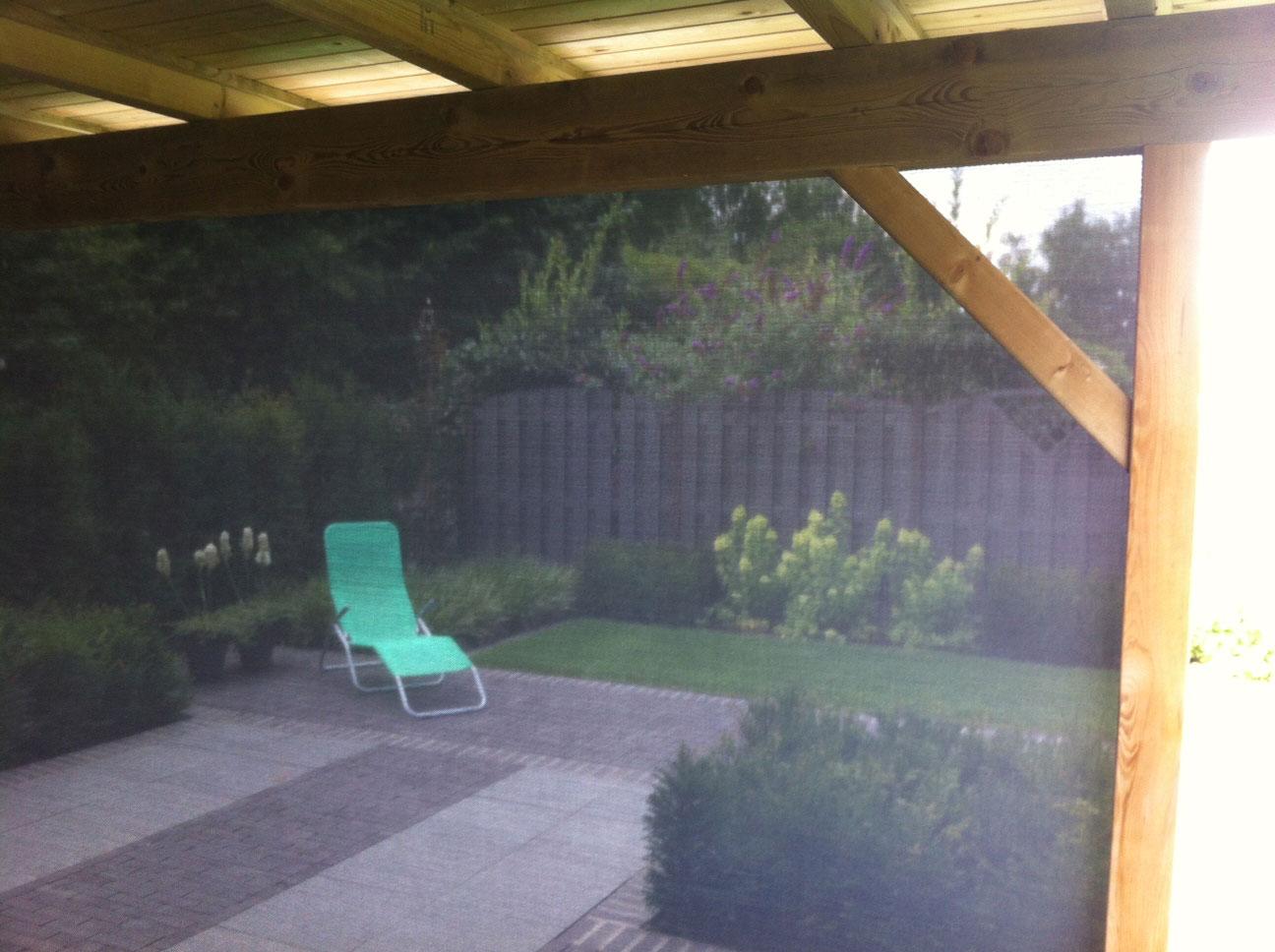 Screen onder houten veranda 3