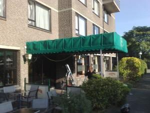 Markies reinigen Belvoir te Nijmegen Roel Huisintveld zonwering bemmel