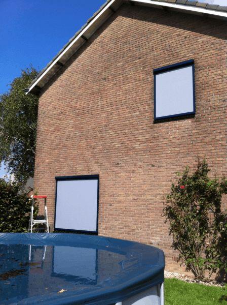 Ritsscreens geplaatst bij woonhuis in Randwijk 2